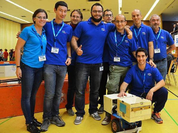 Die Siegermannschaft aus Parma.