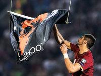 Spielabbruch in Belgrad: SC-Profi Mitrovic betroffen