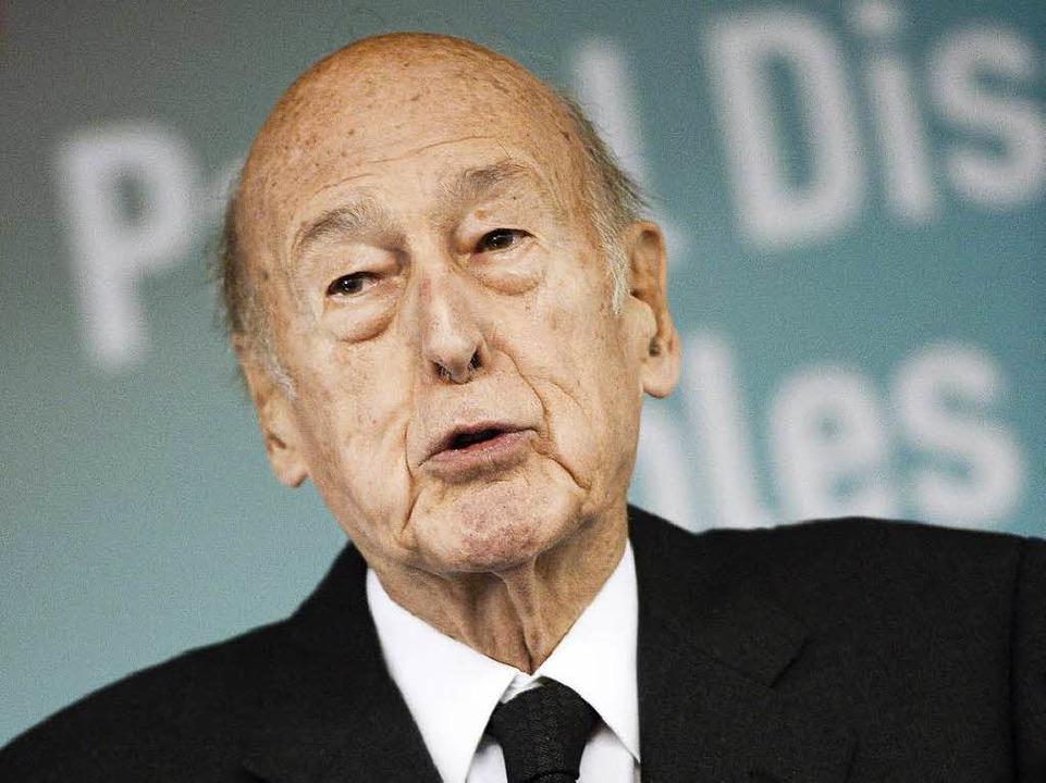 Unter Valery Giscard d'Estaing wurde die Atomkraft zum Mythos.  | Foto: AFP