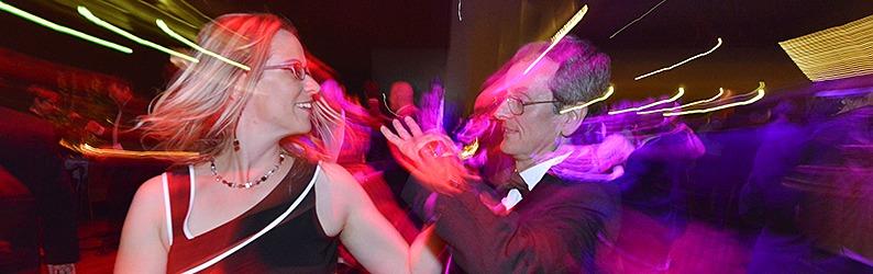 1500 Ballg�ste feiern den Freiburger Presseball
