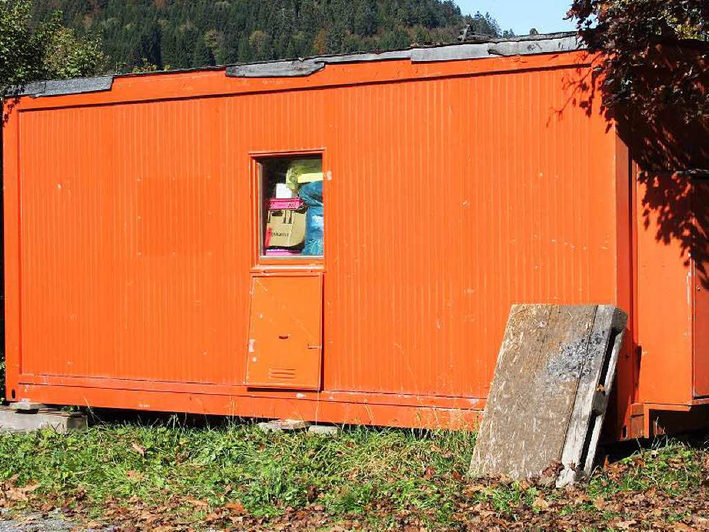 Unbekannte besch digen wohncontainer polizei waldshut for Smart haus wohncontainer