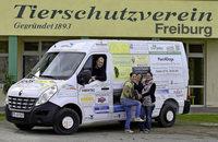 Etliche Freiburger Einrichtungen setzen auf gesponserte Fahrzeuge