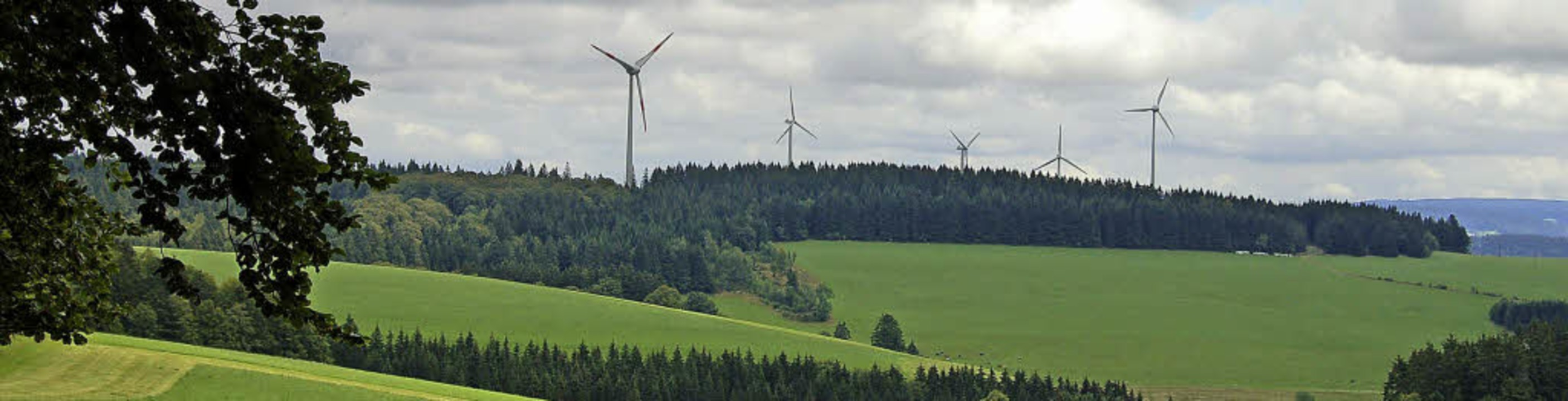 Stören Windräder – wie hier bei ...aft? Die Meinungen dazu sind geteilt.   | Foto: Hans-Jürgen Truöl