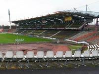Fu�ball: Karlsruhe beschlie�t Stadionneubau im Wildpark