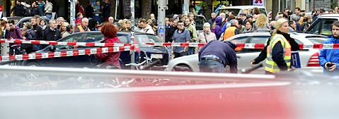 Bombendrohung legte Freiburger Hauptbahnhof lahm