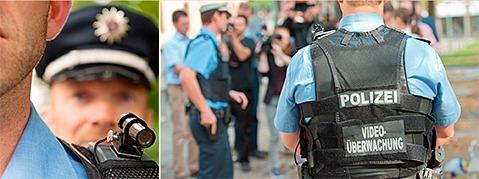 Polizisten im Land bald mit Schulterkameras ausgestattet?