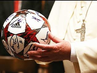 Papst empf�ngt FC Bayern