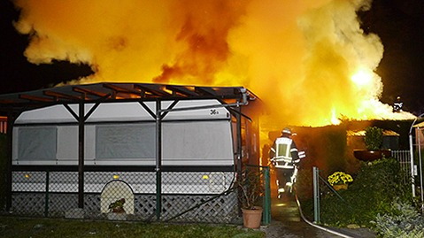 So haben Camper die Wohnwagen-Explosion erlebt
