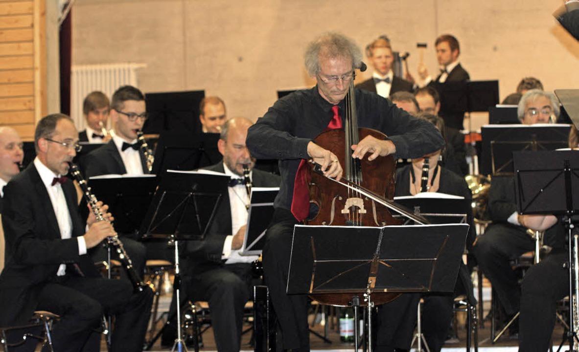 Herbstkonzert des Sinfonischen Verbandsblasorchesters Markgräflerland   | Foto: Martina Faller