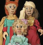 """Figurentheater Allerhand spielt das Stück """"Die Prinzessin auf dem Kürbis"""""""