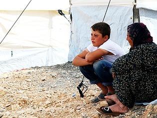 Fl�chtlinge in Syrien f�rchten den Winter