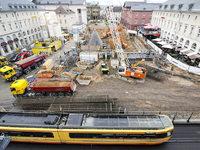 Karlsruhe baut einen Tunnel unter der Fu�g�ngerzone