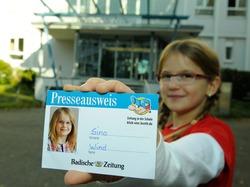 So haben Kinder die Zeitungsarbeit erlebt