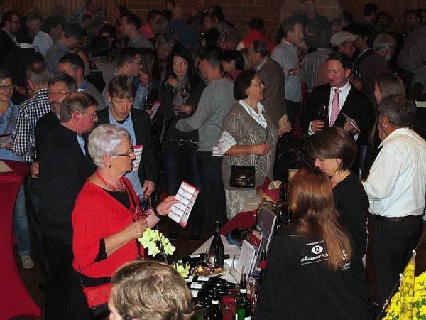 Die Markgräfler Rotweinnacht  ist mittlerweile ein fester Termin im Herbst für Weinfreunde aus Nah und Fern.