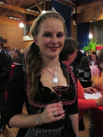 Die Markgräfler Weinprinzessin Melissa Fünfgeld.