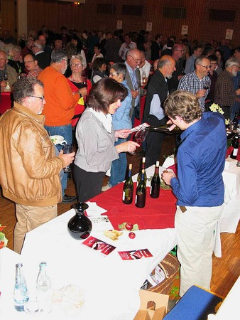 Die Markgräfler Rotweinnacht in Bad Bellingen ist mittlerweile ein fester Termin im Herbst für Weinfreunde aus Nah und Fern.