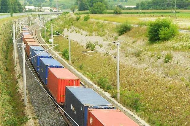 Rheintalbahn: Riegel will Lärmschutz für Waldsiedlung