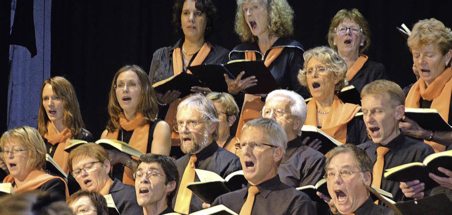Seit Mai probt der Kammerchor Bad Säck...r die Aufführung romantischer Stücke.   | Foto: Archivfoto: Michael Gottstein