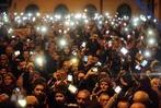 Fotos: Protest gegen Internet-Steuer in Ungarn