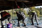 Fotos: Sanierung der historischen Rheinbr�cke
