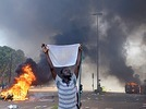 Burkina Faso: Parlament in Brand