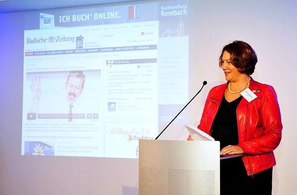 Laudatorin Franziska Pankow von der FWTM