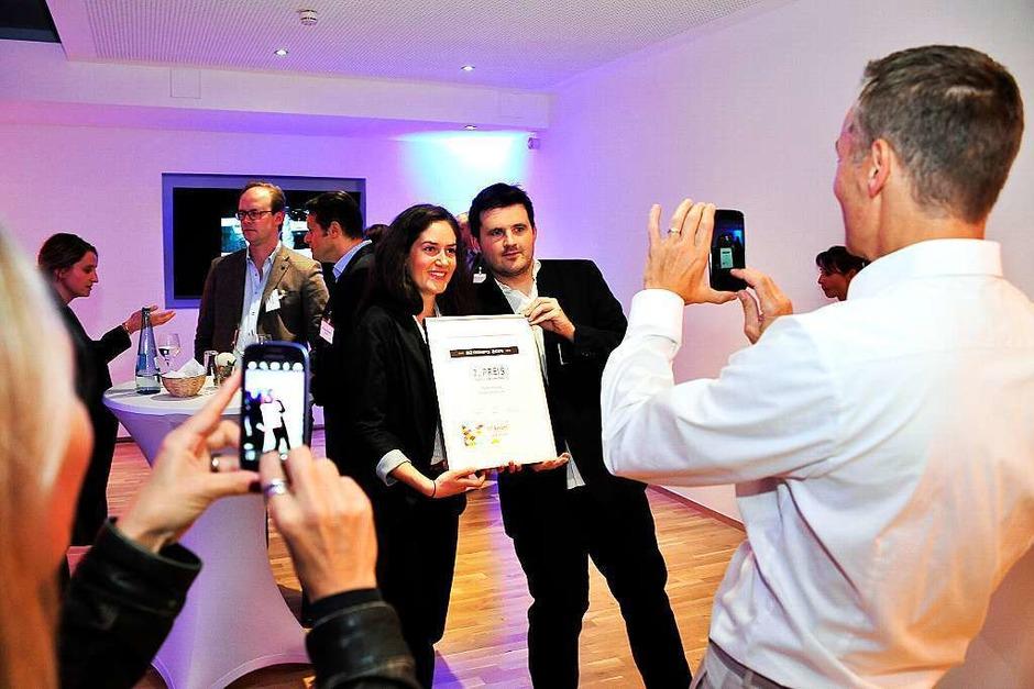 Zum vierten Mal hat die BZ besondere cross-mediale Werbung mit dem BZ-Award ausgezeichnet. (Foto: Thomas Kunz)