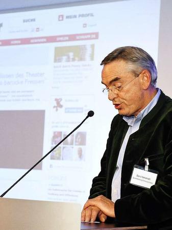 Laudator Bernd Herkenrath