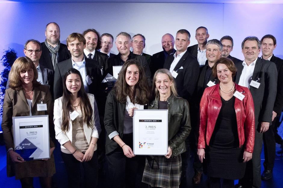 Voilà: Alle Gewinner des BZ-Awards 2014 (Foto: Regula Wolf)