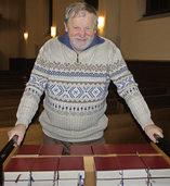 Nach mehr als 35 Jahren gibt Helmuth Gertz den Schl�ssel ab