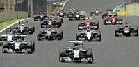 Vorentscheidung in der 29. Runde - Rosberg gewinnt in Brasilien