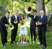 """Blechbl�serquintett Fanfare Royale spielt """"Greatest Hits"""""""
