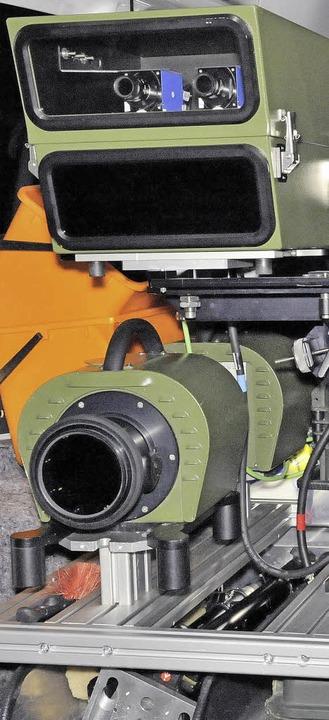 Das Landratsamt erblitzt mit seinem Poliscan-Gerät 322000 Euro im Jahr.  | Foto: Markus Zimmermann