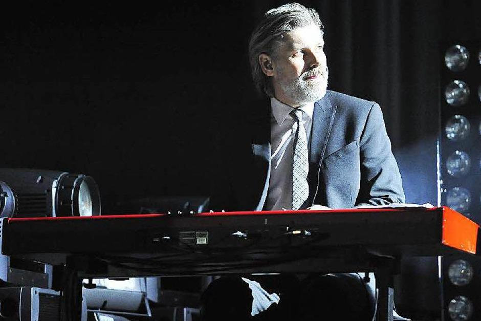 Die versierte Band als wichtiger Erfolgsfaktor: Keyboarder und Pianist Kay Fischer (Foto: Hans-Peter Müller)