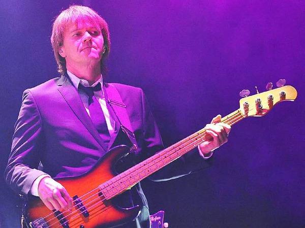 Die versierte Band als wichtiger Erfolgsfaktor: Bassist Dirk Ritz