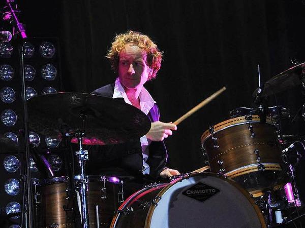 Die versierte Band als wichtiger Erfolgsfaktor: Schlagzeuger Marco Möller