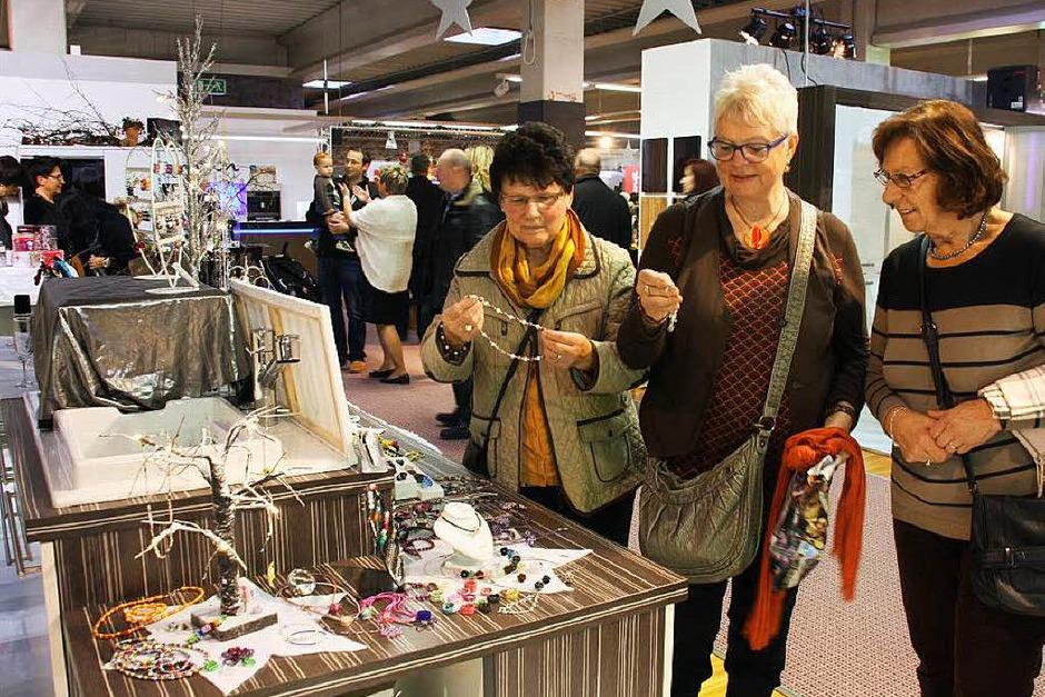 Ein breites Angebot erwartete die Besucher beim 17. Bahlinger Wintermarkt. (Foto: Christiane Franz)