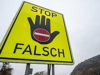 Unfall auf der A5: Geisterfahrer  verursacht Beinahe-Katastrophe