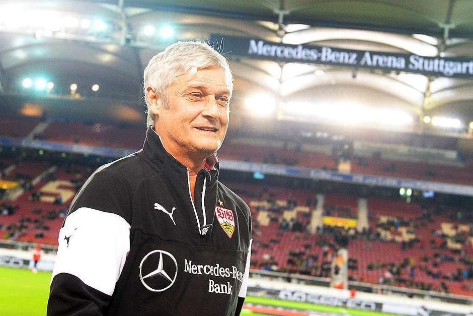 Im Sommer 2014 übernimmt der ehemalige Meistertrainer Armin Veh den VfB Stuttgart. (Foto: dpa)