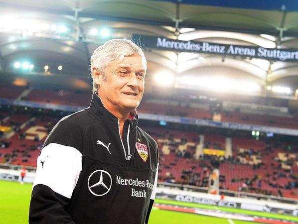 Im Sommer 2014 übernimmt der ehemalige Meistertrainer Armin Veh den VfB Stuttgart.
