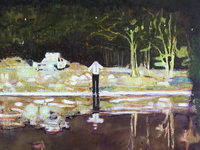 Peter Doig in Riehen: Verst�rende Landschaftsbilder