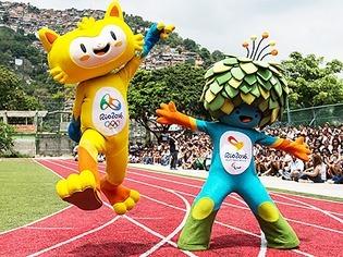 Olympia in Rio: Das sind die Maskottchen