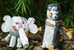 Fotos: Ein Zoo voller Zeitungstiere