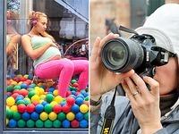 Schwangere Teens und Liliput-Huren: Was sagt der K�nstler?