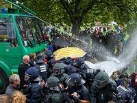 Stuttgart 21: Landgericht stellt Wasserwerfer-Prozess ein