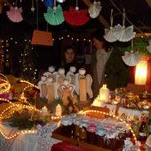 Der Weihnachtsmarkt l�dt ein