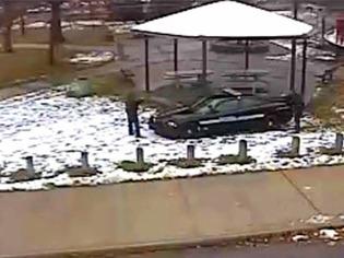 USA: Video zeigt Todessch�sse auf Bub, der mit Spielzeugpistole spielte