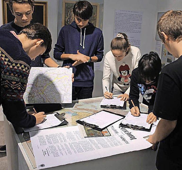 Deutsch-Französische Geschichtsstunde im Museum   | Foto: zVg