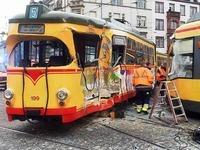 Karlsruhe: Zw�lf Verletzte nach Stra�enbahn-Kollision