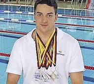 Jan Draeger schwimmt zu Vereinsrekord